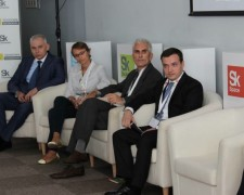 14.06.15 - David CTO at Ckolkovo with IMC our Russian rep