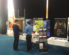 15.05.27 - Pablo from GMP (our Swiss rep) at Swiss Nanoconvention 2015 in Neuchâtel