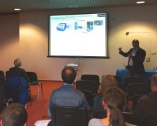 15.09.23 - Sylvain, COO of Cordouan at Laborexpo 2015 in Prague