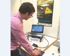 16.04.20 - Powtech, Nürnberg  with our German rep Porotec