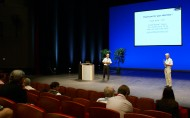 david our cto at ecis conference in bordeaux