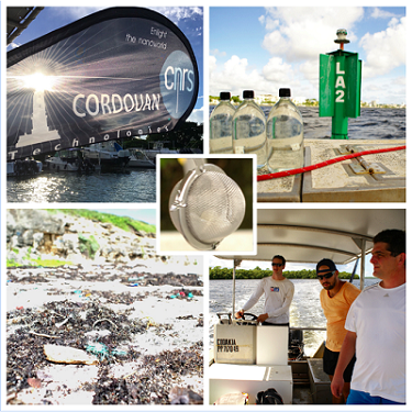 Expedition Guadeloupe _ Cordouan _ NP plastic study
